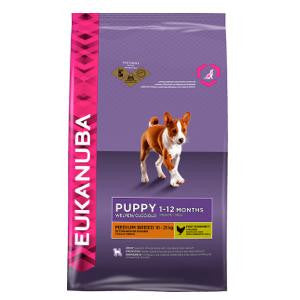 Eukanuba Puppy Medium Breed Chicken Dry Dog Food,Dry Dog Food,Eukanuba,Animal World UK - Animal World UK