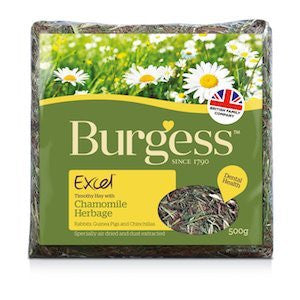 Excel Chamomile Herbage,Small Animal Forage,Burgess,Animal World UK - Animal World UK