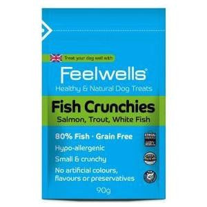 Feelwells Fish Crunchies Dog Treats,Dog Treats,Feelwells,Animal World UK - Animal World UK