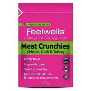 Feelwells Meat Crunchies Dog Treats,Dog Treats,Feelwells,Animal World UK - Animal World UK