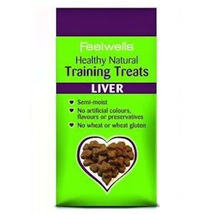 Feelwells Semi Moist Liver Dog Training Treats,Dog Treats,Feelwells,Animal World UK - Animal World UK