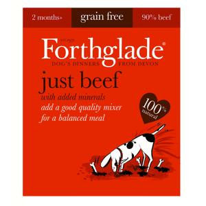Forthglade Just Beef Wet Dog Food