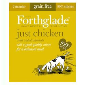 Forthglade Just Chicken Wet Dog Food,Wet Dog Food,Forthglade,Animal World UK - Animal World UK
