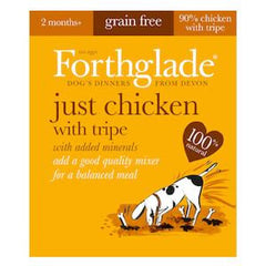 Forthglade Just Chicken with Tripe Wet Dog Food,Wet Dog Food,Forthglade,Animal World UK - Animal World UK