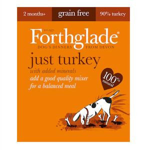 Forthglade Just Turkey Wet Dog Food