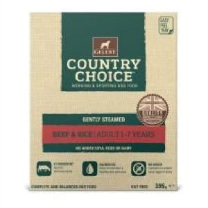 Gelert Country Choice Tray Beef & Rice Wet Dog Food