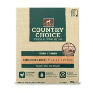 Gelert Country Choice Tray Chicken & Rice Wet Dog Food