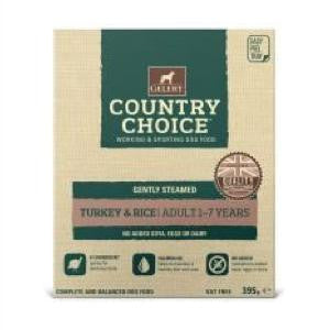 Gelert Country Choice Tray Turkey & Rice Wet Dog Food,Wet Dog Food,Gelert,Animal World UK - Animal World UK