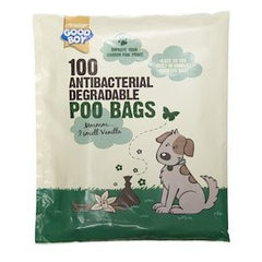 Good Boy Antibacterial Degradable Poo Bags,Dog Hygiene,Armitage,Animal World UK - Animal World UK
