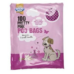Good Boy Pretty Pink Poo Bags,Dog Hygiene,Armitage,Animal World UK - Animal World UK