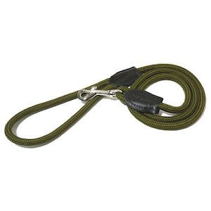 Green Rope Twist Dog Lead,Dog Leads,Rosewood,Animal World UK - Animal World UK
