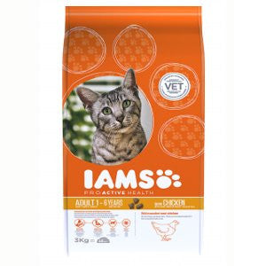 Iams Adult Chicken Dry Cat Food,Dry Cat Food,IAMS,Animal World UK - Animal World UK