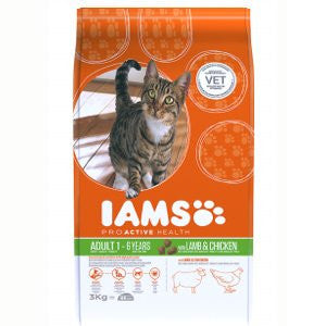 Iams Adult Lamb & Chicken Dry Cat Food