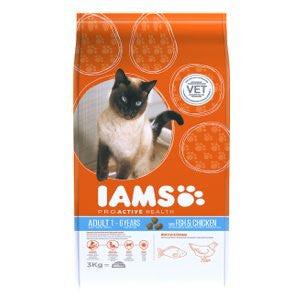 Iams Adult Wild ocean Fish & Chicken Dry Cat Food,Dry Cat Food,IAMS,Animal World UK - Animal World UK