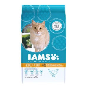 Iams Light Chicken Dry Cat Food,Dry Cat Food,IAMS,Animal World UK - Animal World UK