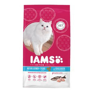 Iams Mature & Senior Ocean Fish & Chicken Dry Cat Food