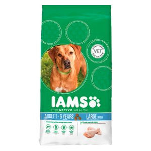 Iams Proactive Health Adult Large Breed Chicken Dry Dog Food,Dry Dog Food,IAMS,Animal World UK - Animal World UK