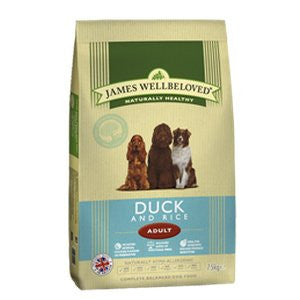James Wellbeloved Adult Duck & Rice Dry Dog Food,Dry Dog Food,James Wellbeloved,Animal World UK - Animal World UK