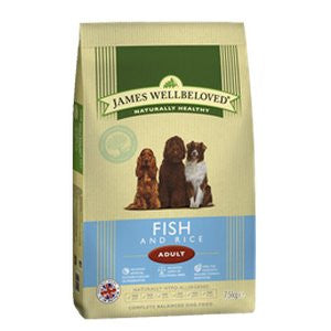 James Wellbeloved Adult Fish & Rice Dry Dog Food,Dry Dog Food,James Wellbeloved,Animal World UK - Animal World UK