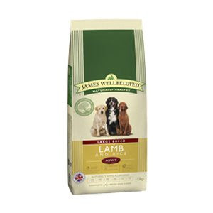 James Wellbeloved Adult Large Breed Lamb & Rice Dry Dog Food,Dry Dog Food,James Wellbeloved,Animal World UK - Animal World UK