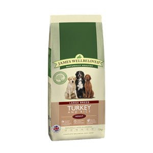 James Wellbeloved Adult Large Breed Turkey & Rice Dry Dog Food,Dry Dog Food,James Wellbeloved,Animal World UK - Animal World UK