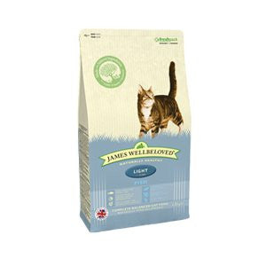 James Wellbeloved Adult Light Fish Dry Cat Food