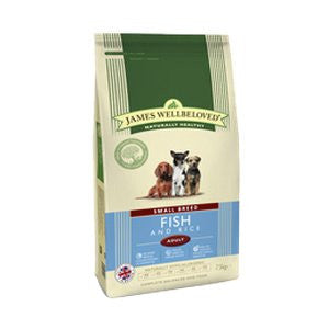 James Wellbeloved Adult Small Breed Fish & Rice Dry Dog Food