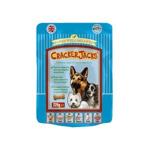 James Wellbeloved CrackerJacks Fish, Rice & Tomato Dog Treats,Dog Treats,James Wellbeloved,Animal World UK - Animal World UK
