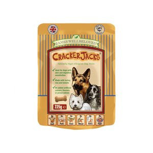 James Wellbeloved CrackerJacks Turkey, Rice & Tomato Dog Treats,Dog Treats,James Wellbeloved,Animal World UK - Animal World UK