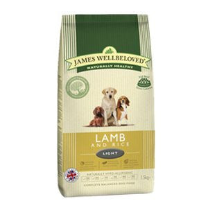 James Wellbeloved Light Lamb & Rice Dry Dog Food,Dry Dog Food,James Wellbeloved,Animal World UK - Animal World UK