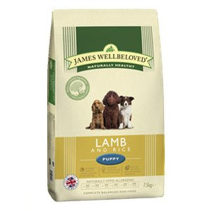 James Wellbeloved Puppy Lamb & Rice Dry Dog Food,Dry Dog Food,James Wellbeloved,Animal World UK - Animal World UK