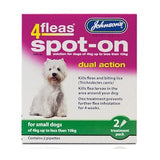 Johnsons 4fleas Spot On Small Dog,Dog Healthcare,Johnsons,Animal World UK - Animal World UK