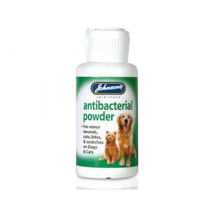 Johnsons Antibacterial Wound Powder,Cat Healthcare,Johnsons,Animal World UK - Animal World UK