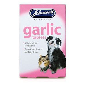 Johnsons Garlic Tablets,Dog Healthcare,Johnsons,Animal World UK - Animal World UK