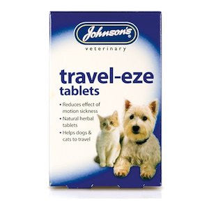 Johnsons Travel-Eze Tablets,Cat Healthcare,Johnsons,Animal World UK - Animal World UK