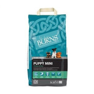 Burns Puppy Mini Chicken & Rice Dry Dog Food,Dry Dog Food,Burns,Animal World UK - Animal World UK