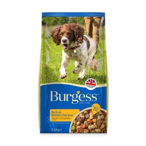 Burgess Complete Adult Chicken Dry Dog Food,Dry Dog Food,Burgess,Animal World UK - Animal World UK