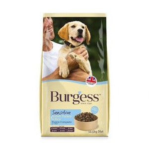Burgess Sensitive Puppy British Turkey & Rice Dry Dog Food