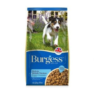 Burgess Supadog Complete Puppy Chicken Dry Dog Food