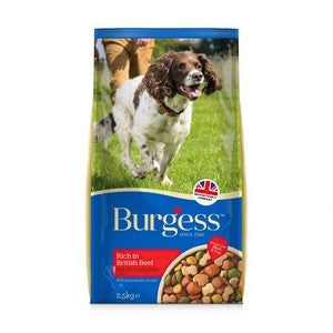 Burgess Complete Adult Beef Dry Dog Food