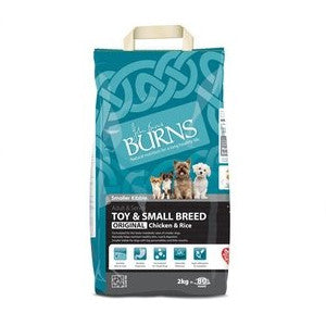 Burns Toy & Small Breed Chicken & Rice Dry Dog Food,Dry Dog Food,Burns,Animal World UK - Animal World UK