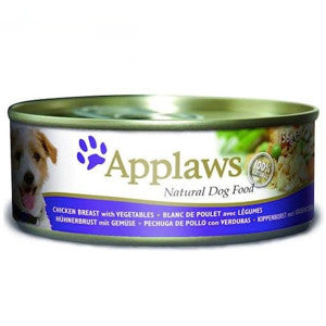 Applaws Chicken Breast with Vegetables Wet Dog Food Tin