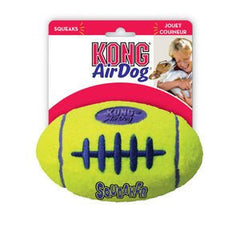 Kong Air Squeaker American Football Dog Toy,Dog Toys,Kong,Animal World UK - Animal World UK