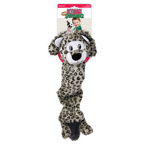Kong Stretchezz Jumbo Snow Leopard Dog Toy