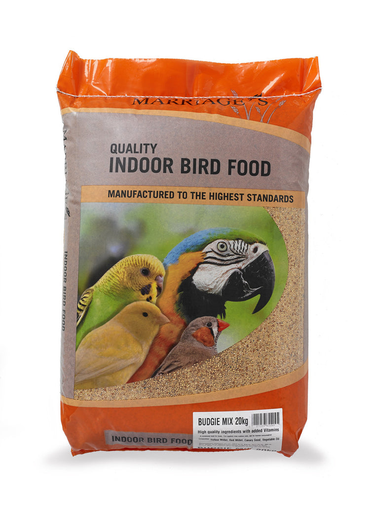 Marriages Budgie Mix Food