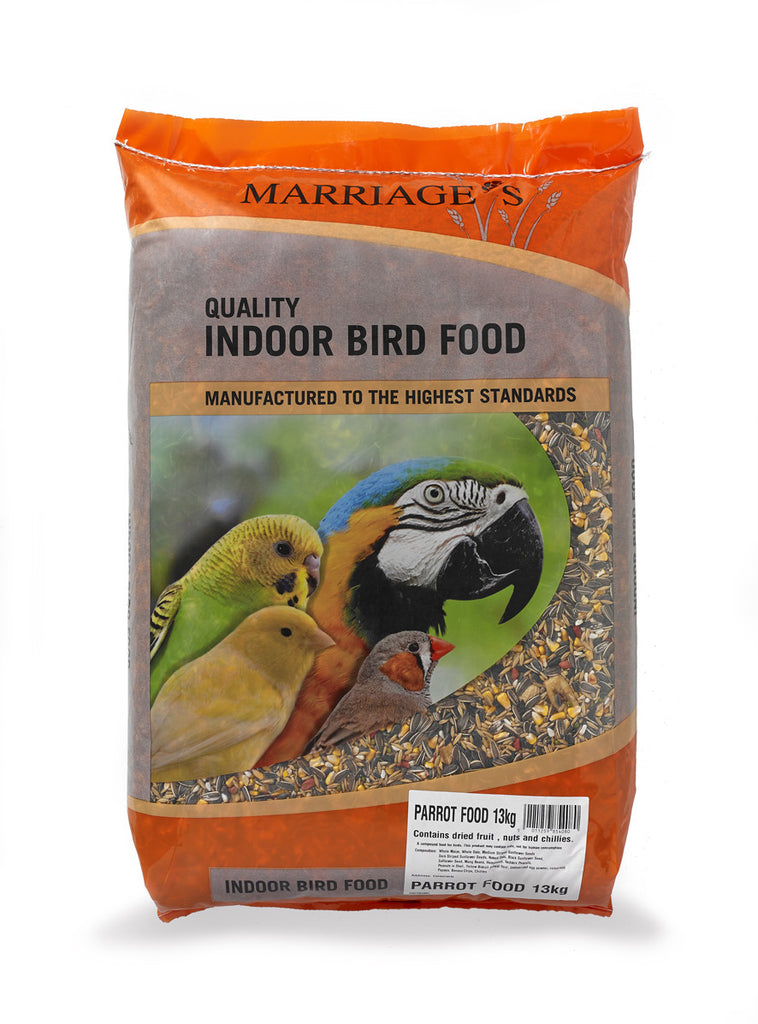 Marriages Parrot Food