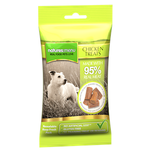 Natures Menu Real Meaty Chicken Dog Treats,Dog Treats,Natures Menu,Animal World UK - Animal World UK