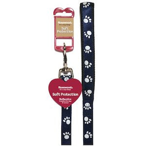 Navy Blue Reflective Dog Lead,Dog Leads,Rosewood,Animal World UK - Animal World UK