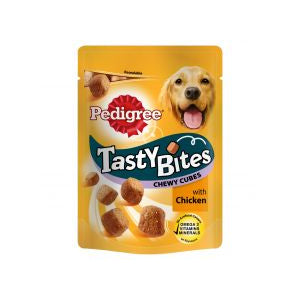 Pedigree Tasty Bites Chewy Cubes with Chicken Dog Treats
