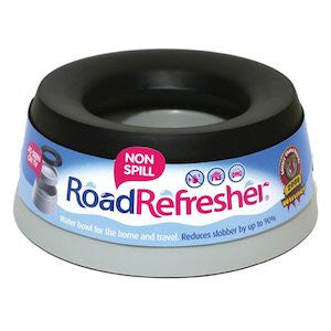 Road Refresher Non-Spill Water Dog Bowl,Dog Bowls,Rosewood,Animal World UK - Animal World UK